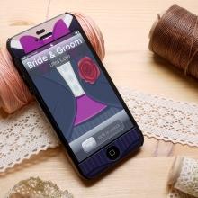 Ultracase iPhone手机壳结婚系列黑色