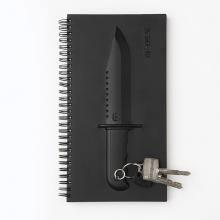 天晴设计 猎刀笔记本